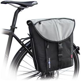 KlickFix Cita Vario Sacoche vélo, black/silver